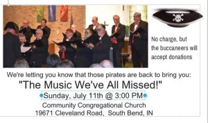 """""""The Music We've All Missed!""""  Summer Concert @ Community Congregational Church"""